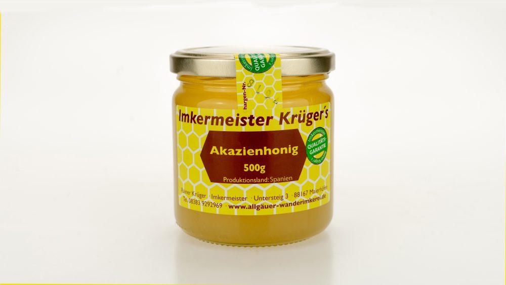 Bienenhonig - Akazienhonig - Echter Europäischer Honig vom Imker kaufen