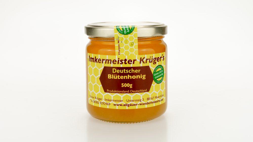 Bienenhonig - Deutscher Blütenhonig - Echter Deutscher Honig kaufen