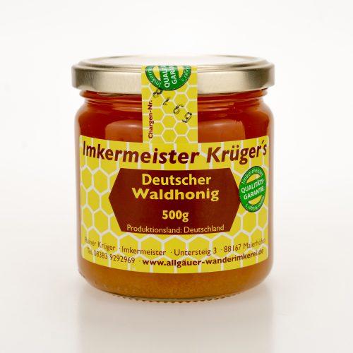 Bienenhonig - Deutscher Waldhonig - Echter Deutscher Honig vom Imker kaufen