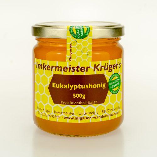 Bienenhonig - Eukalyptushonig - Honig vom Imker kaufen