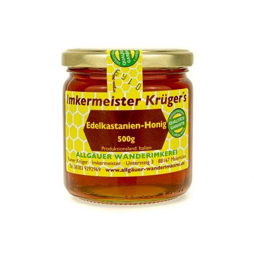Bienenhonig - Edelkastanienhonig vom Imker online kaufen