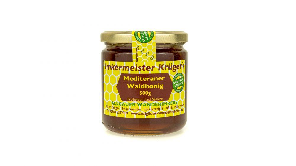 Bienenhonig - Allgäuer Wanderimkerei Mediteraner Waldhonig vom Imker online kaufen