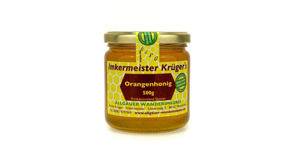 Bienenhonig - Orangenhonig - Echter Europäischer Honig vom Imker kaufen