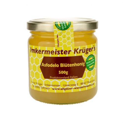Honig Direkt Vom Imker Ihrer Allgäuer Wander Imkerei Aus Dem Allgäu Asfodelo Blütenhonig 01