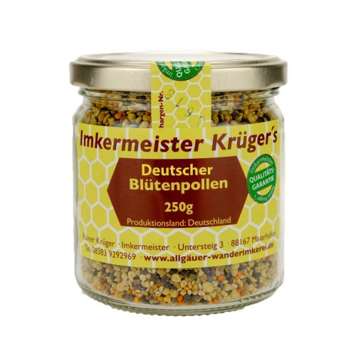 Honig Direkt Vom Imker Ihrer Allgäuer Wander Imkerei Aus Dem Allgäu Deutscher Blütenpollen (frisch) 05