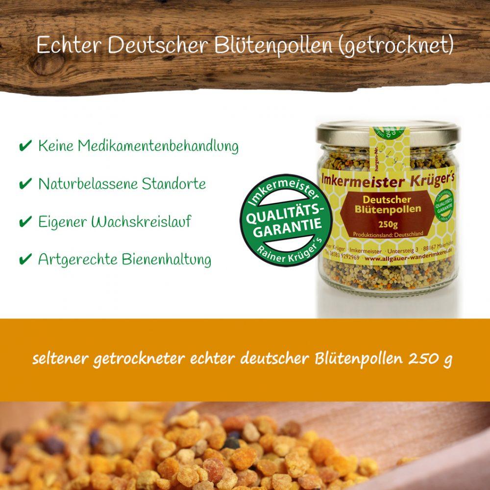 Honig Direkt Vom Imker Ihrer Allgäuer Wander Imkerei Aus Dem Allgäu Deutscher Blütenpollen (getrocknet) 03