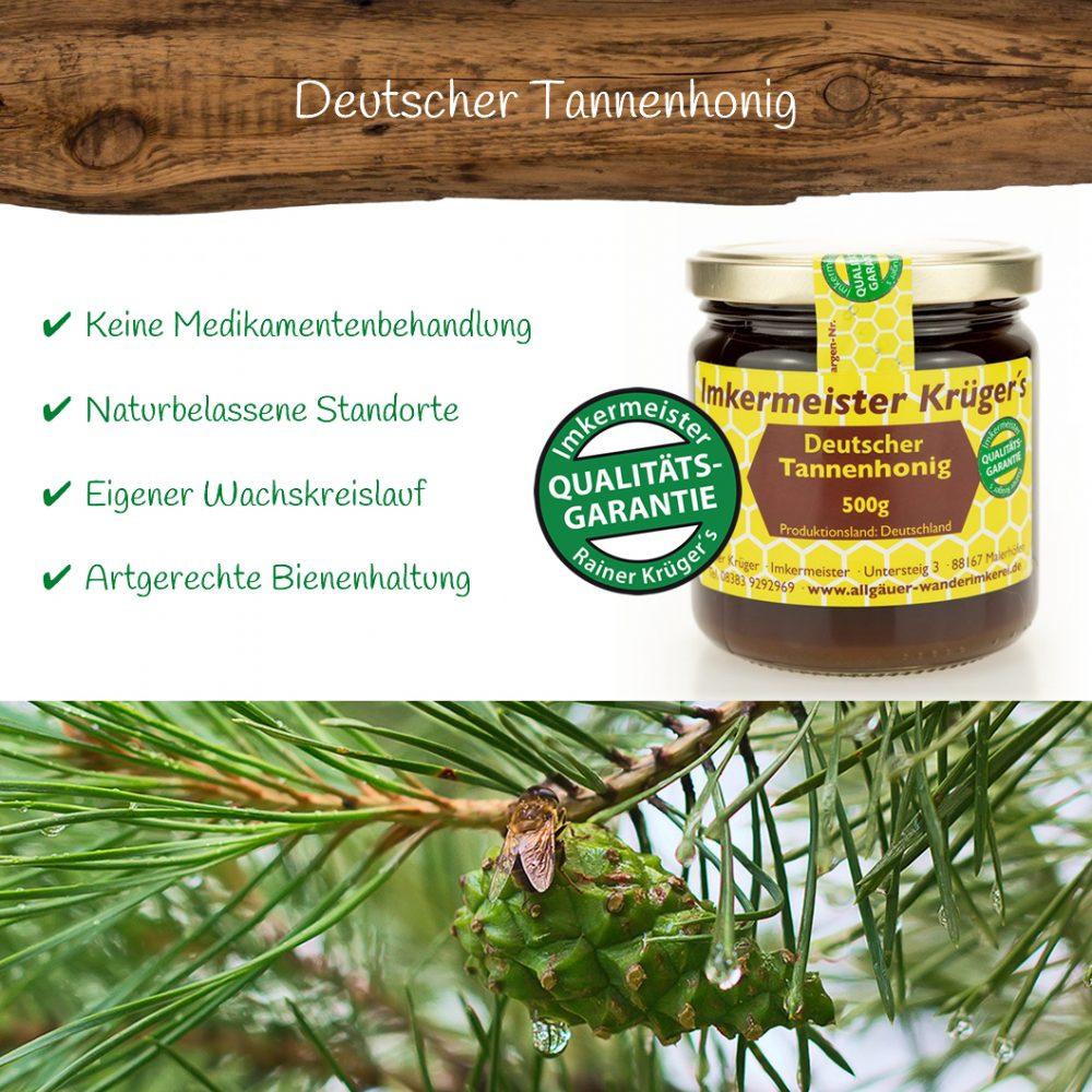 Honig Direkt Vom Imker Ihrer Allgäuer Wander Imkerei Aus Dem Allgäu Deutscher Tannenhonig 02
