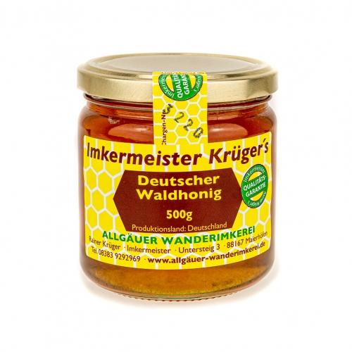 Honig Direkt Vom Imker Ihrer Allgäuer Wander Imkerei Aus Dem Allgäu Deutscher Waldhonig 02