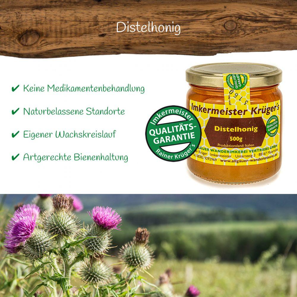 Honig Direkt Vom Imker Ihrer Allgäuer Wander Imkerei Aus Dem Allgäu Distelhonig 06