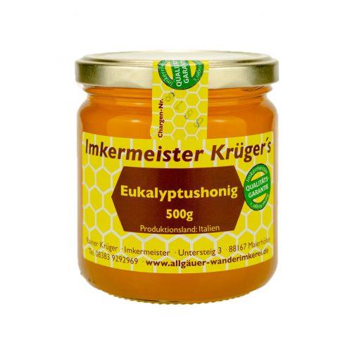 Honig Direkt Vom Imker Ihrer Allgäuer Wander Imkerei Aus Dem Allgäu Eukalyptushonig 04