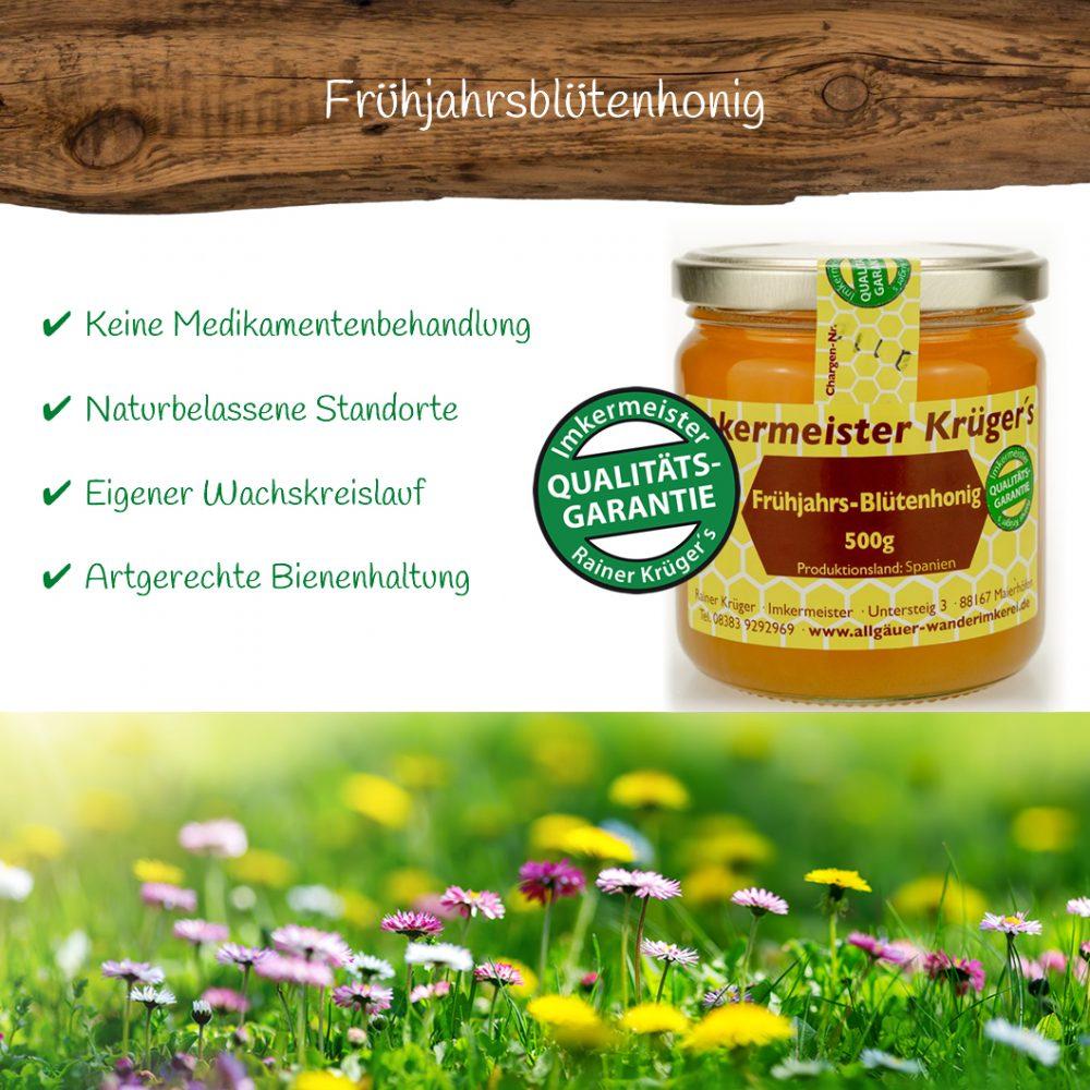 Honig Direkt Vom Imker Ihrer Allgäuer Wander Imkerei Aus Dem Allgäu Frühjahrs Blütenhonig 02