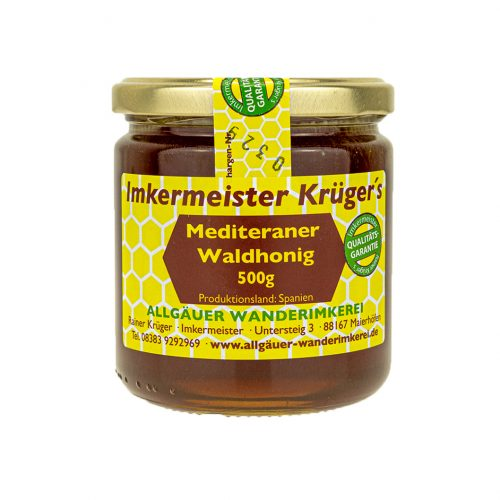 Honig Direkt Vom Imker Ihrer Allgäuer Wander Imkerei Aus Dem Allgäu Mediterraner Waldhonig 03