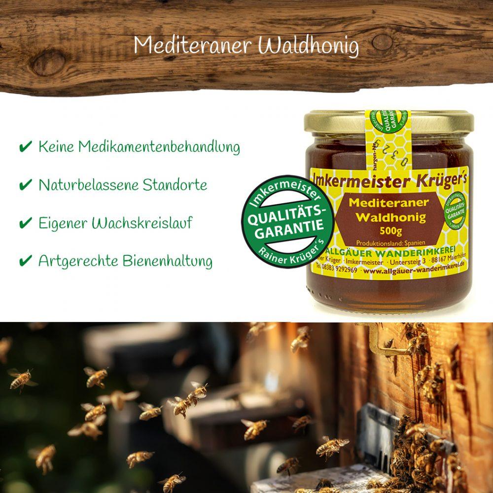Honig Direkt Vom Imker Ihrer Allgäuer Wander Imkerei Aus Dem Allgäu Mediterraner Waldhonig 04