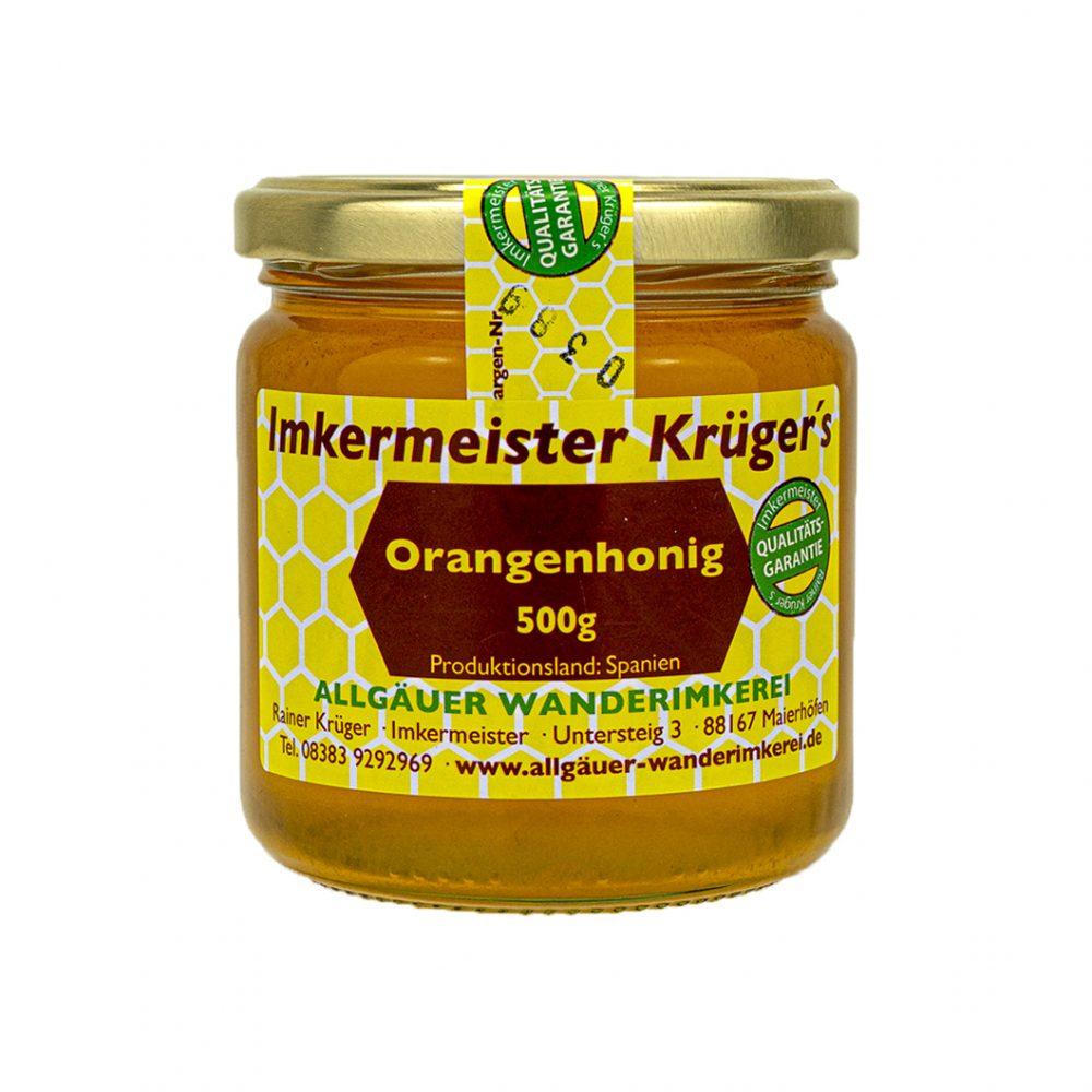 Honig Direkt Vom Imker Ihrer Allgäuer Wander Imkerei Aus Dem Allgäu Orangenhonig 02