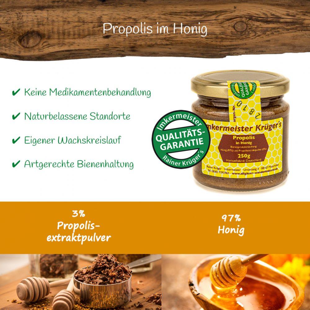 Honig Direkt Vom Imker Ihrer Allgäuer Wander Imkerei Aus Dem Allgäu Propolis Im Honig 12