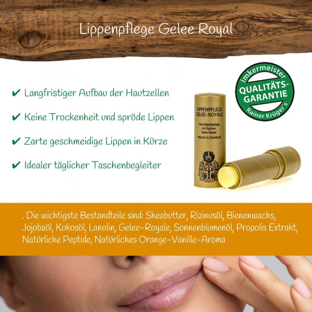 Honig Direkt Vom Imker Ihrer Allgäuer Wander Imkerei Aus Dem Allgäu Gelee Royal Lippenpflege 03
