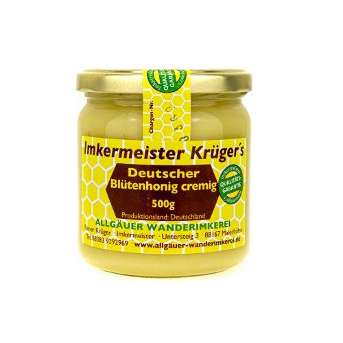 Bienenhonig - Deutscher Blütenhonig cremig - Echter Deutscher Honig vom Imker online kaufen