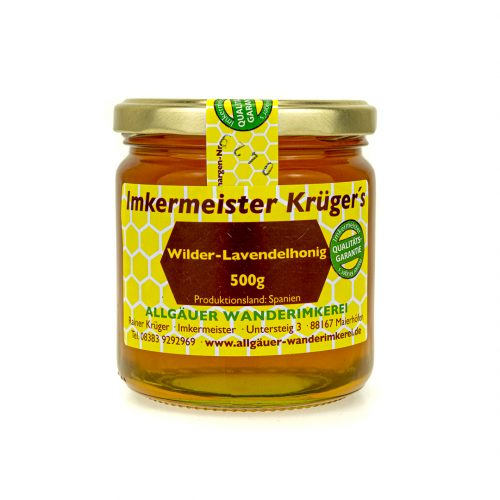 Bienenhonig - Lavendelhonig - Echter Europäischer Honig vom Imker kaufen