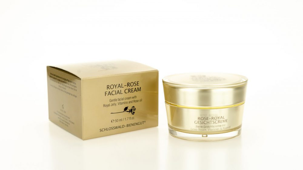 Rose Royal Gesichtscreme Gold-Tiegel 50ml