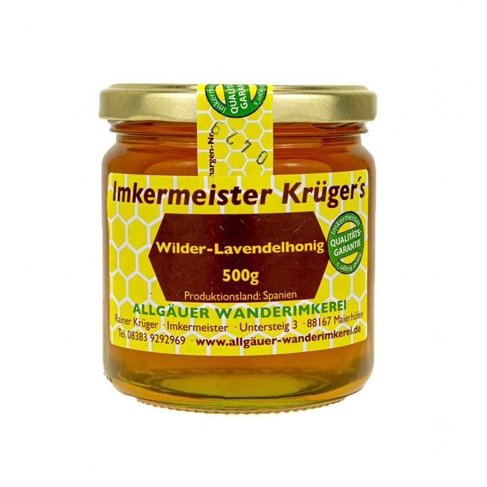 Honig Direkt Vom Imker Ihrer Allgäuer Wander Imkerei Aus Dem Allgäu Wilder Lavendelhonig 01