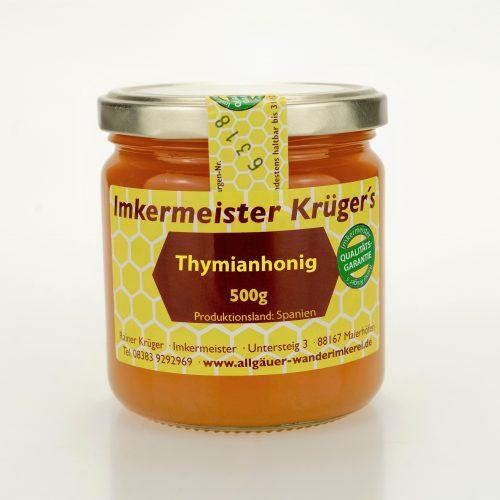 Allgäuer Wanderimkerei Thymianhonig vom Imker online kaufen