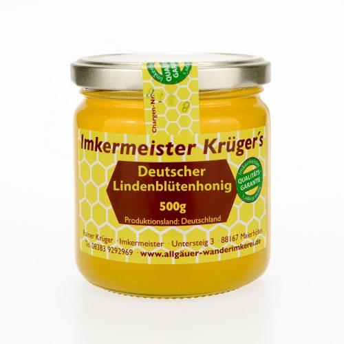 Bienenhonig - Deutscher Lindenblütenhonig - Echter Deutscher Honig kaufen