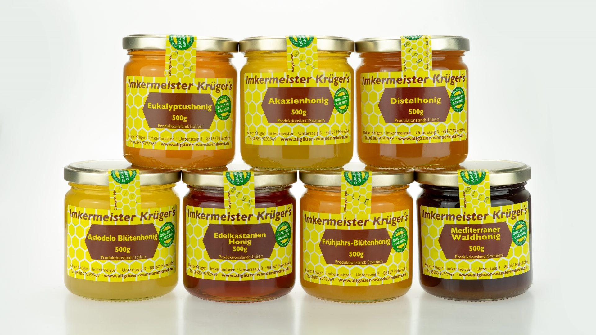 Europäischer Honig direkt vom Imker