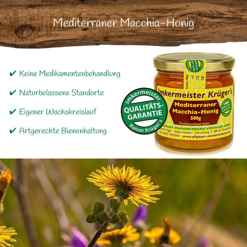 Honig Direkt Vom Imker Ihrer Allgäuer Wander Imkerei Aus Dem Allgäu Mediterraner Macchia Honig 03