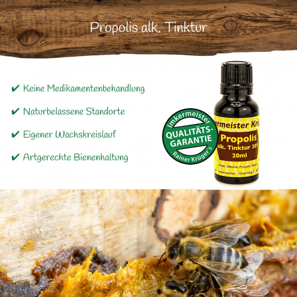 Honig Direkt Vom Imker Ihrer Allgäuer Wander Imkerei Aus Dem Allgäu Propolis Alk. Tinktur 02