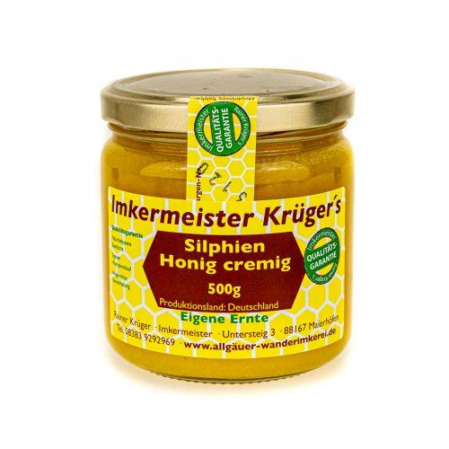 Honig Direkt Vom Imker Ihrer Allgäuer Wander Imkerei Aus Dem Allgäu Deutscher Silphien Honig Cremig 03